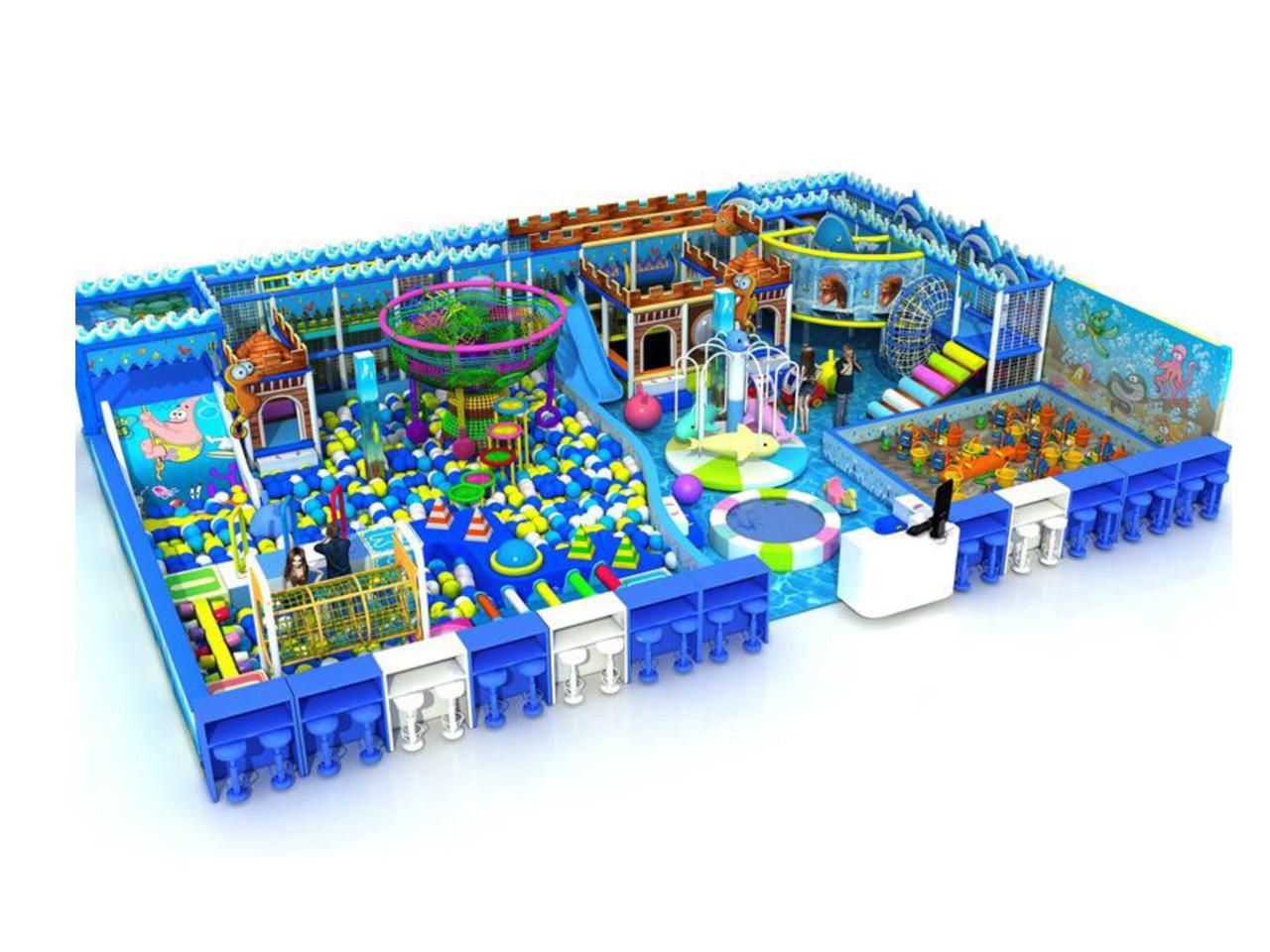 Khu vui chơi liên hoàn chủ đề biển xanh