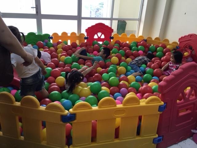 Cho thuê bể bóng trẻ em